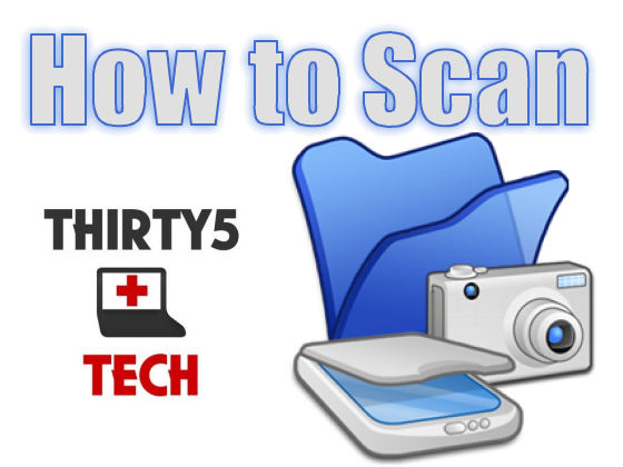 How to Scan Documents and Photos